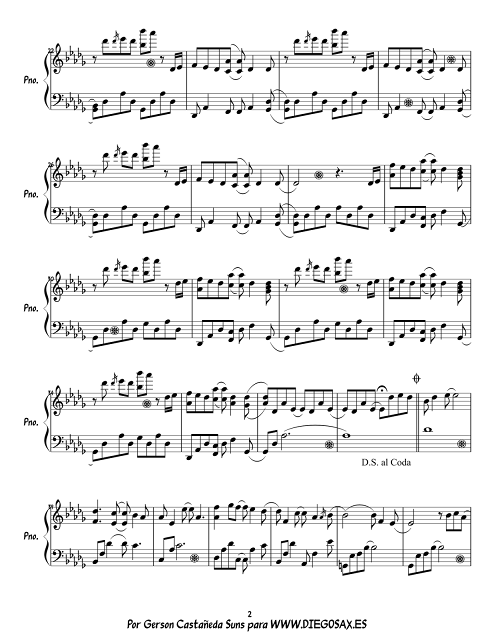 2 Maybe de Yiruma Partitura para piano Maybe piano sheet music by Yiruma