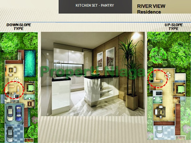 Properti-Niaga-Kitchen-Set-River-View-Residence-Sentul-City