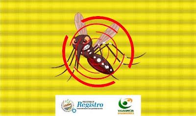 595 casos confirmados de Dengue em Registro-SP