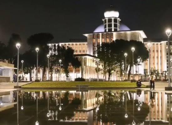 Wajah Baru Masjid Istiqlal setelah Renovasi Besar-besaran