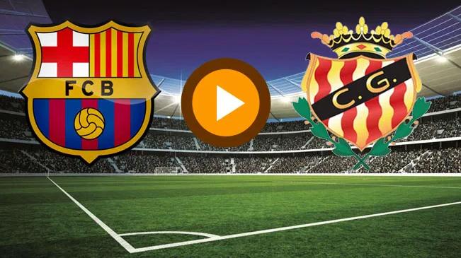 مباراة برشلونة وخيمناستيكا