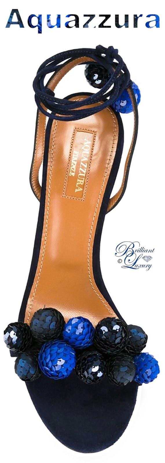Brilliant Luxury ♦ Aquazzura Disco Thing Sandals