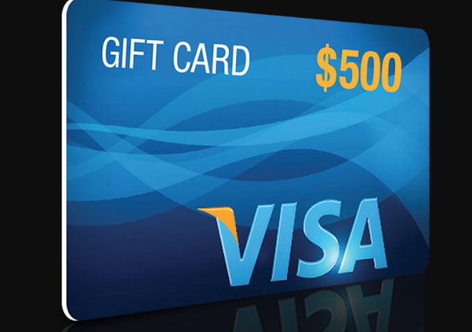 If you want free 500 $ visa card try your luck here !!