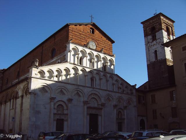 La Chiesa di Santa Maria è una delle tante chiese del centro storico di Lucca