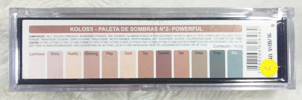 Paleta Luxurious Powerfull
