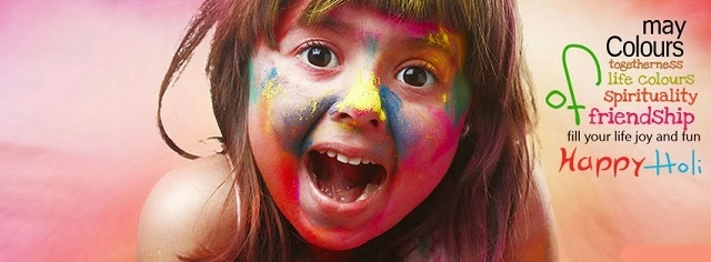 Happy holi greetings images