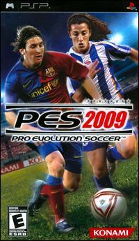Pro Evolution Soccer 2009 [PSP] (ISO) Español [MEGA]