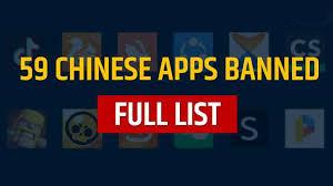 भारताने बंदी घातलेल्या  59 चायनीज Apps ची संपूर्ण यादी ;  तुम्हाला ठरू शकतात हे घातक ; लवकरच फोनमधून करा डिलीट