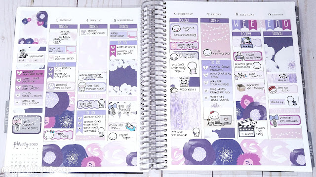 Plan with Me: Ft. Cricket Paper Co | February 3rd to February 9th