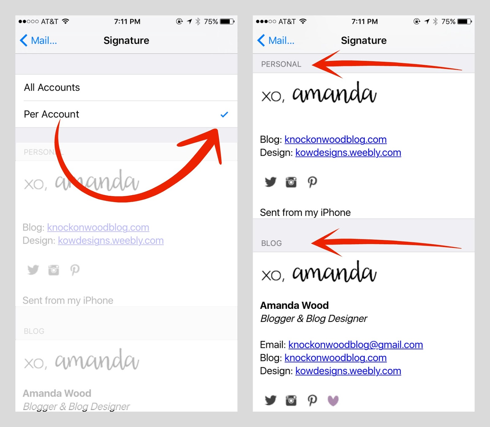 iphone email signature knock on wood how to transfer your gmail email signatures 11814
