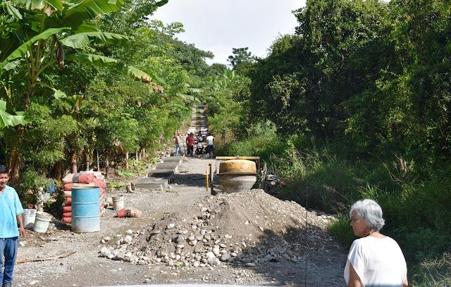 El mejoramiento de caminos rurales es una realidad con la alcaldesa Ofelia Jarillo