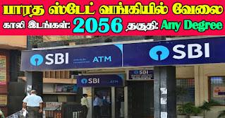 SBI Recruitment 2021 2056 PO Posts