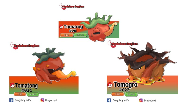Pokémon Tomate