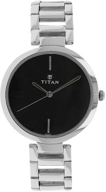 Titan NF2480SM02 Purple Analog Watch
