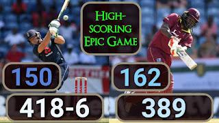 Chris Gayle 162 | Jos Buttler 150 - West Indies vs England 4th ODI 2019 Highlights