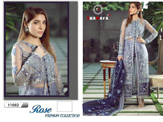 Shanaya Rose Premium Net Collection Pakistani Suits