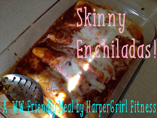 Skinny Enchiladas (Weight Watcher Friendly)