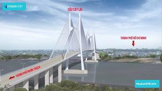 Hồ Chí Minh mở rộng tuyến đường khu Cáng Cát Lái để chờ xây cầu