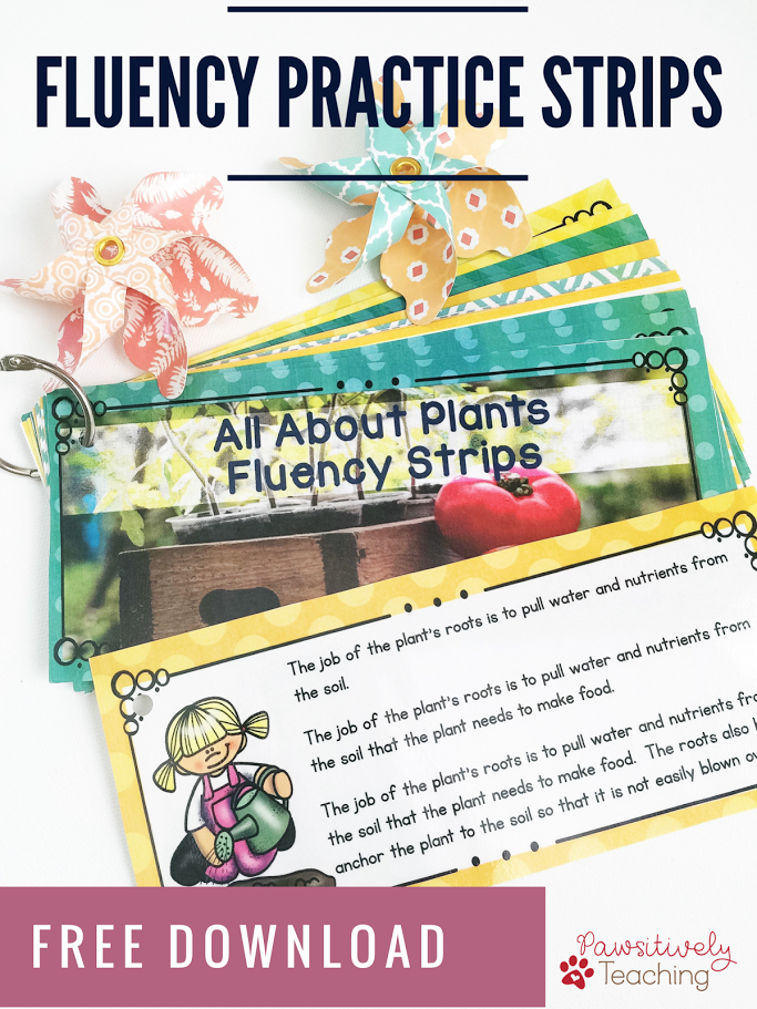 5 Steps for Improving Fluency in Your Classroom ~ Freebie Included