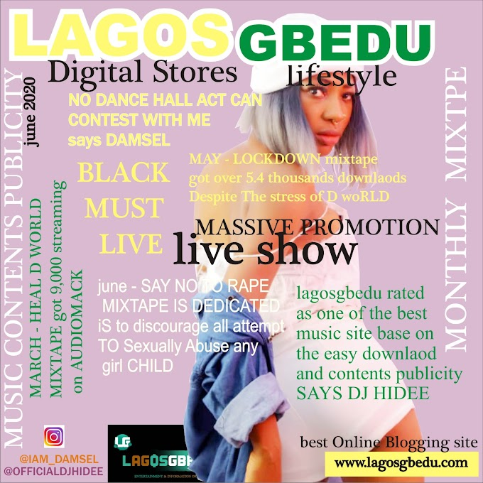 [News] LAGOSGBEDU MAGAZINE JUNE EDITION