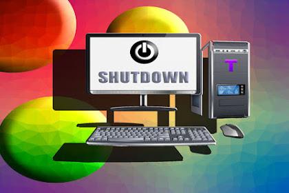 Inilah Resiko Mematikan Komputer Tanpa Melakukan Shutdown