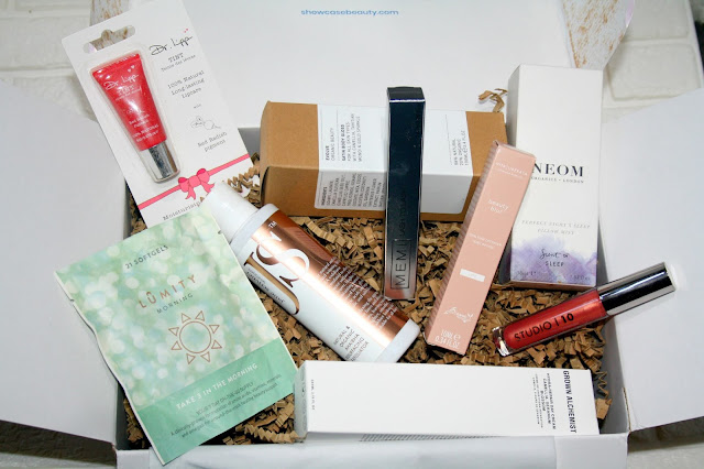Good Housekeeping x Showcase Beauty Box review with photos