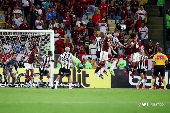 Pelo Brasileirão, Atlético perde no Maracanã