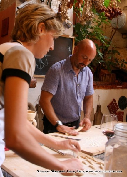 food and wine classes of Puglia