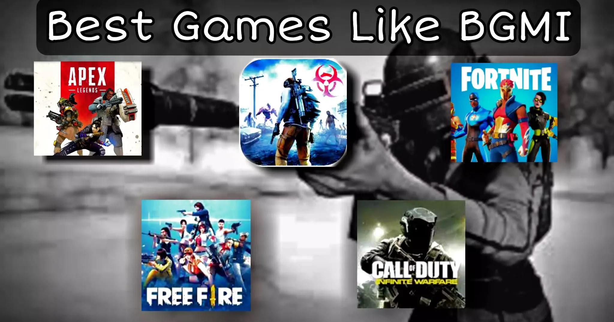 Best Games like Pubg BGMI