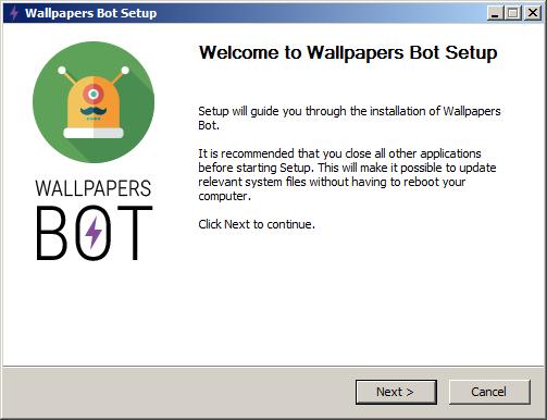 أفضل برنامج لتحميل أكثر من 30 ألف خلفية عالية الجودة والدقة Wallpapers Bot