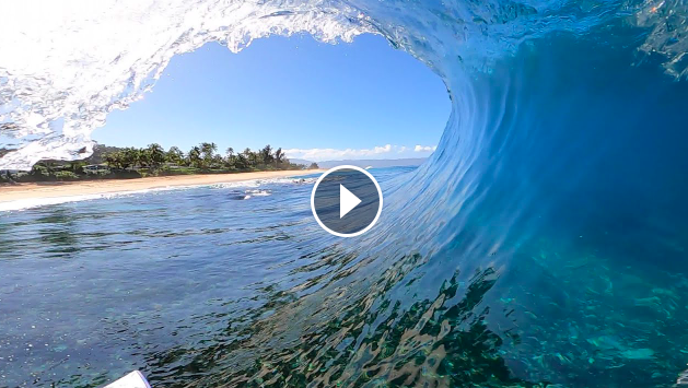 Surfing On Reef POV Full Experience