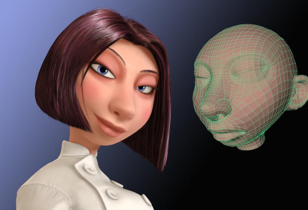 Panocamera Ratatouille Character Modelling