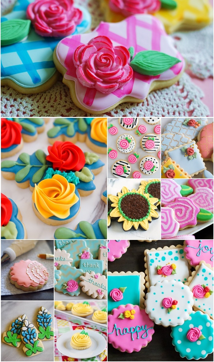 11 floral cookies to make for Mother's Day