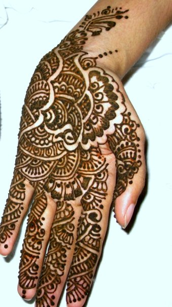 Mehndi Eid Designs 2012 : Latest eid hand mehndi designs for girls hindi