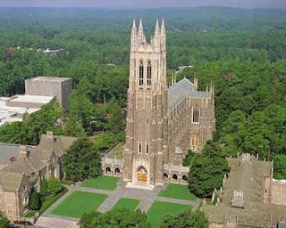 Duke Chapel, a captivating shrine