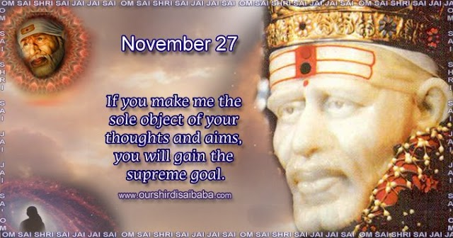 My Sai Blessings - Daily Blessing Messages-Shirdi Sai Baba Today Message 27-11-19