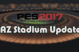 AZ Stadium Pack Update Season 2021 - PES 2017