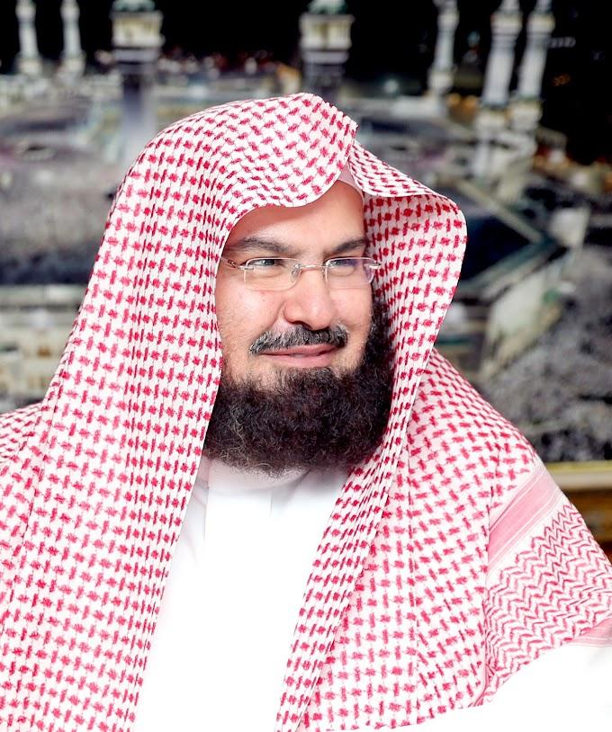 Sheikh Abdul Rehman Al Sudais