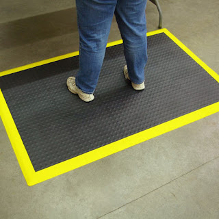 Greatmats StayLock Bump Top Anti Fatigue Basement Plastic Floor