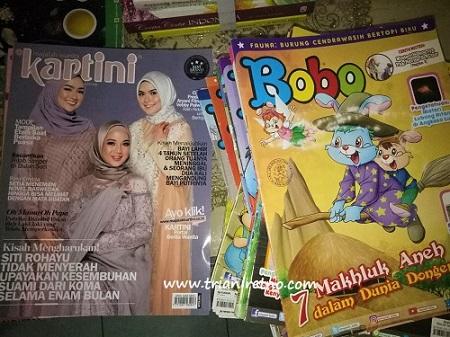 majalah jadul bekas
