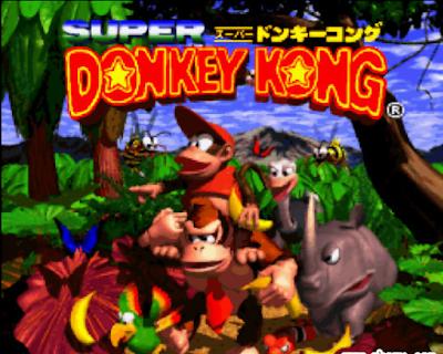【SFC】超級大金剛1代原版+無敵版+加強版,Super.Donkey.Kong!