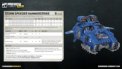 Storm Speeder Hammerstrike