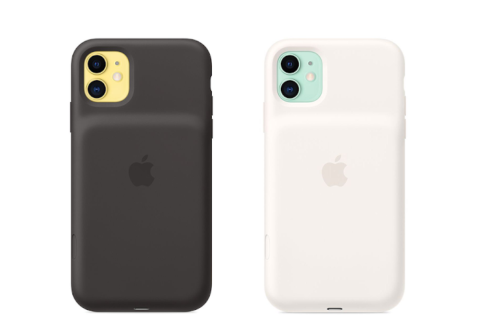 Apple has added a dedicated camera button to its new Smart Battery Cases