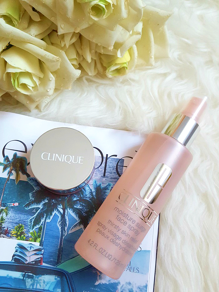 Review: Clinique - Moisture Surge Face Spray & Melting Mask Balm
