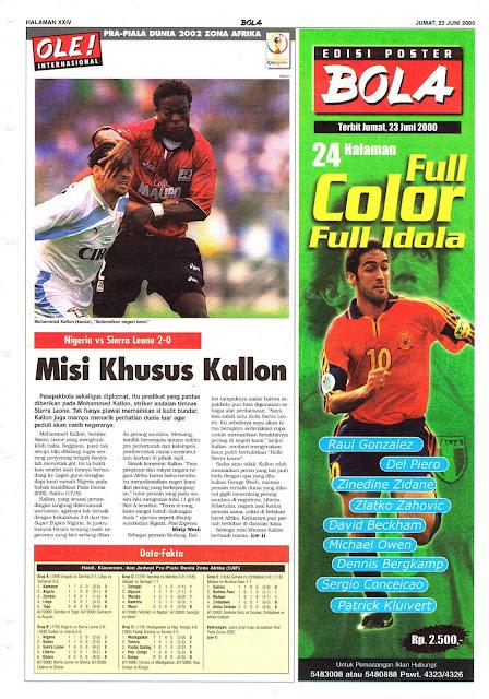 NIGERIA VS SIERRA LEONE 2-0 MISI KHUSUS KALLON