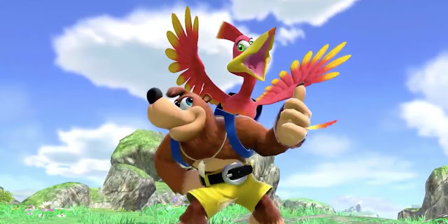 Super Smash Bros. Ultimate (Switch): Rare fala sobre o design de Banjo-Kazooie