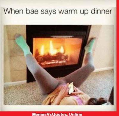 warm up dinner