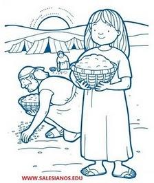 Discipulos De Cristo Las Historias De La Biblia Dibujos A