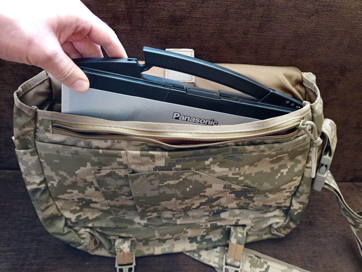 ЗСУ почали отримувати нову польову сумку