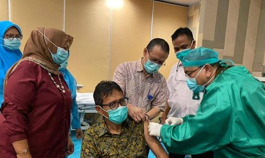 Update  ! Baru Seusai Divaksin Irwan Prayitno Positif Covid-19